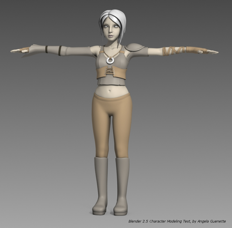 Blenderella Character Modeling In Blender 2 5 Download : Sintel the durian open movie project archive