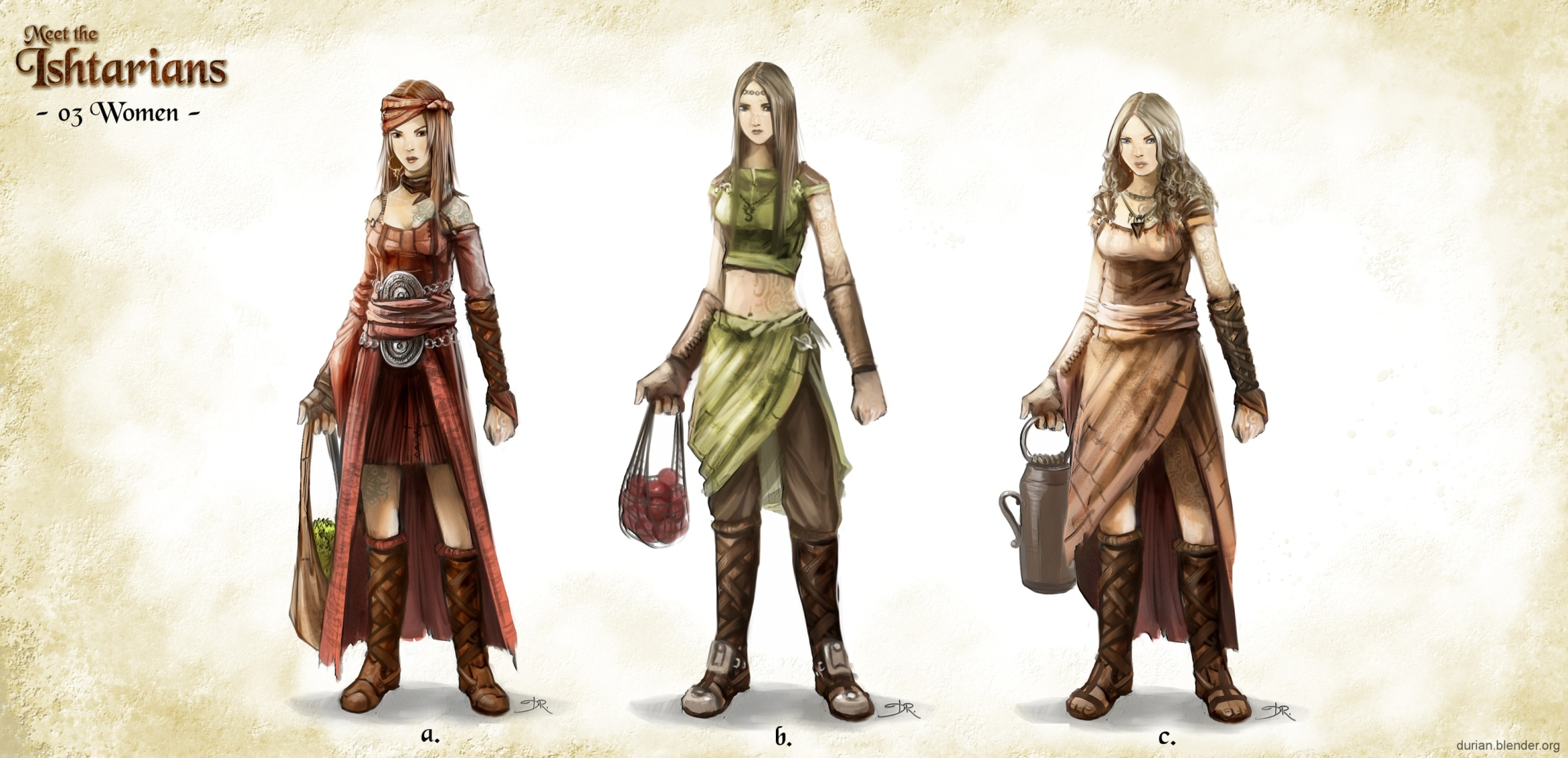 Character Design Wallpaper : Sintel the durian open movie project archive