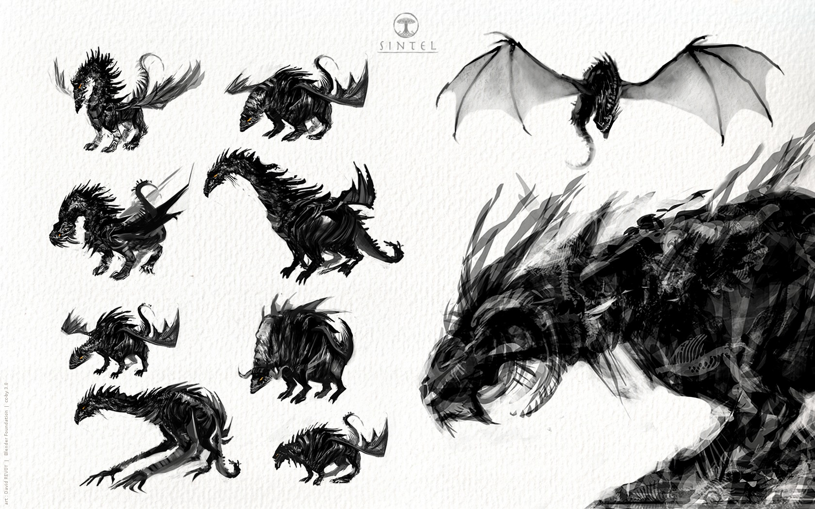 Sintel, the Durian Open Movie Project » Concept-art
