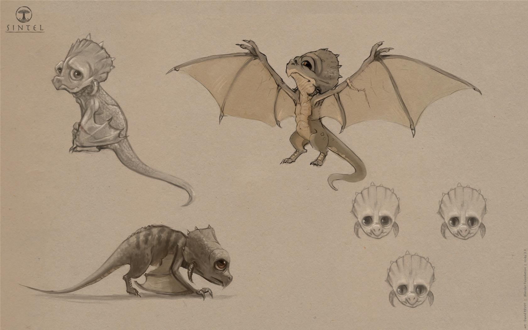 Concept Art : Dragons