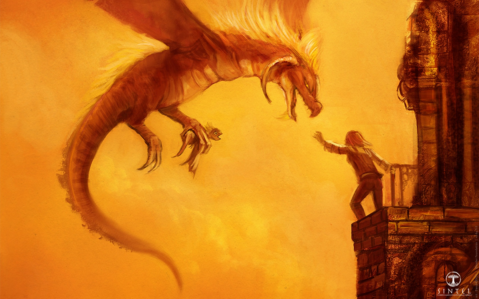 ... the Durian Open Movie Project » Blog Archive » Concept-art : Dragons
